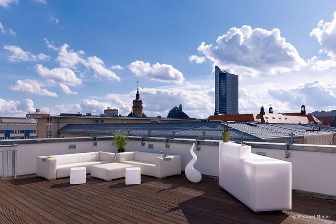 莱比锡巴赫维也纳联排别墅 - 莱比锡 - 阳台