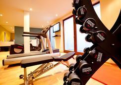 阿克娜巴赫14生活旅馆 - 莱比锡 - 健身房