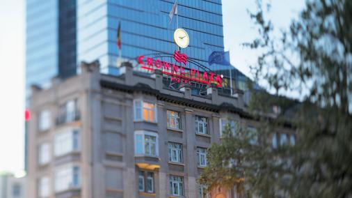 布鲁塞尔乐宫皇冠假日酒店 - 布鲁塞尔 - 建筑