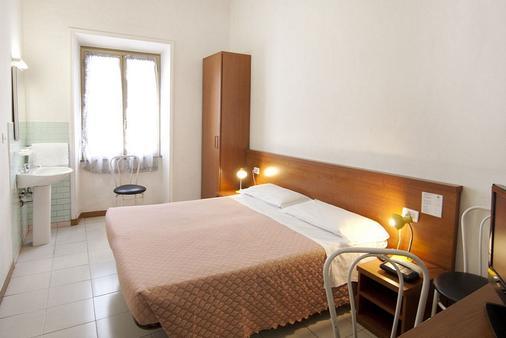 玛莎拉酒店 - 罗马 - 睡房