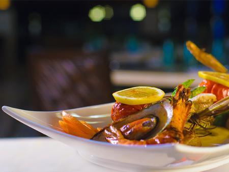 邦劳岛南方棕榈度假村 - 邦劳 - 食物