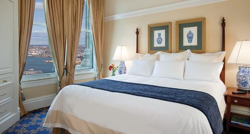 海关万豪酒店 - 波士顿 - 睡房