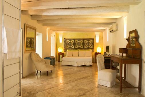 拉帕森精品酒店 - Cartagena - 睡房