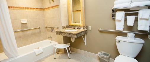 南加州豪华沃尔夫酒店 - 加登格罗夫 - 浴室