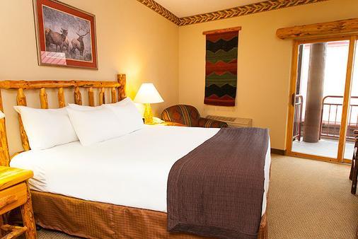 南加州豪华沃尔夫酒店 - 加登格罗夫 - 睡房