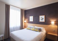艺术家酒店 - 里昂 - 睡房