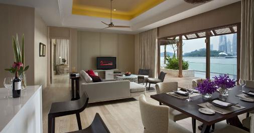 新加坡圣淘沙名胜世界海滨别墅 - 新加坡 - 客厅