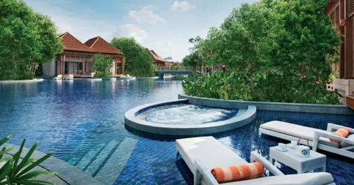 新加坡圣淘沙名胜世界海滨别墅 - 新加坡 - 游泳池