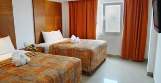 盖比套房酒店 - 坎昆 - 睡房