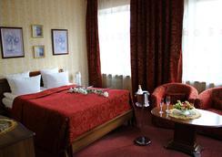 蒙施科夫酒店 - 圣彼德堡 - 睡房