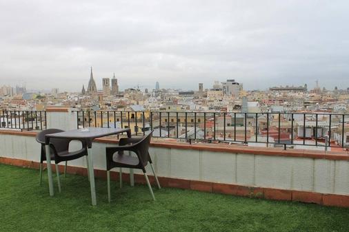 巴塞罗那兰布拉斯酒店 - 巴塞罗那 - 阳台