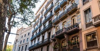 巴塞罗那兰布拉斯酒店 - 巴塞罗那 - 建筑