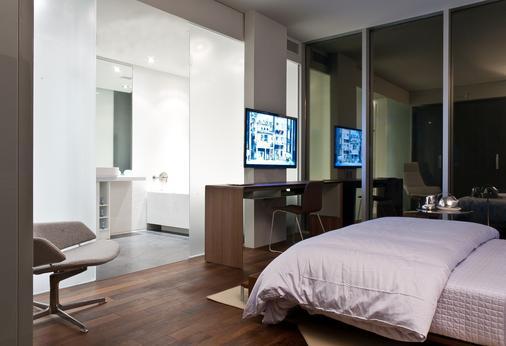 圣殿酒店 - 多伦多 - 睡房