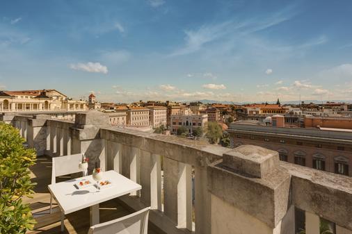罗马皇宫大酒店 - 罗马 - 阳台