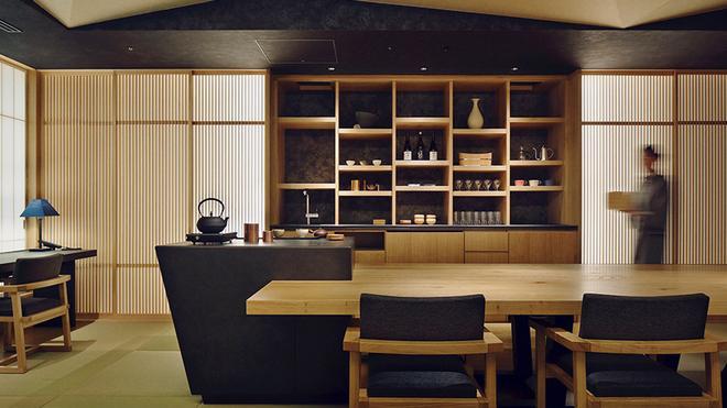 东京虹夕诺雅日式旅馆 - 东京 - 休息厅