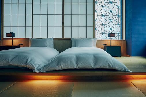 东京虹夕诺雅日式旅馆 - 东京 - 睡房