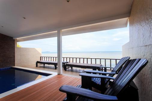 查汶海滩度假村 - 苏梅岛 - 阳台
