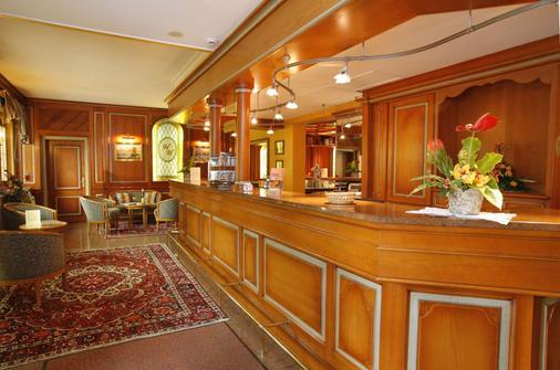 杜尔那酒店 - 科尔马 - 柜台