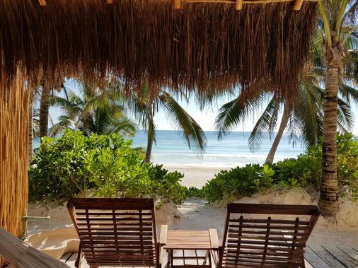 图卢姆海滩酒店 - 图卢姆 - 阳台
