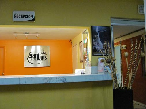 圣路易斯酒店 - 圣路易斯波托西 - 柜台