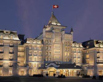 洛桑萨沃伊皇家酒店 - 洛桑 - 建筑