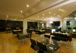 热带海岸酒店 - 阿尔布费拉 - 餐馆