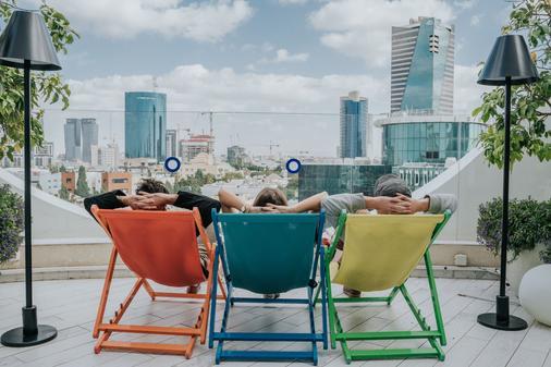 罗斯柴尔德特拉维夫65酒店 - 阿特拉斯精品酒店 - 特拉维夫 - 阳台