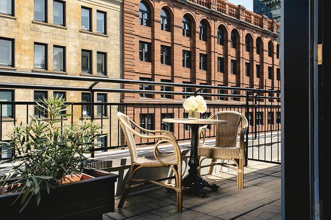 达尔姆广场酒店 - 蒙特利尔 - 阳台