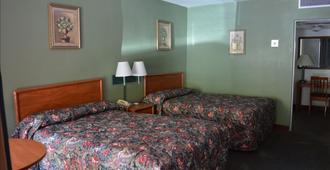 城市中心汽车旅馆 - 拉斯维加斯 - 睡房