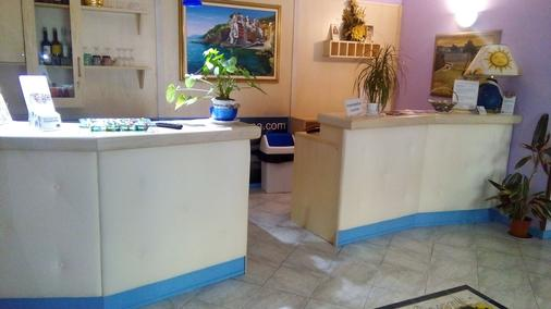 洛坎达达拉康朋尼亚酒店 - 里奥马哲雷 - 柜台