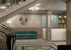 Evropa Hotel - 比什凱克 - 休息厅