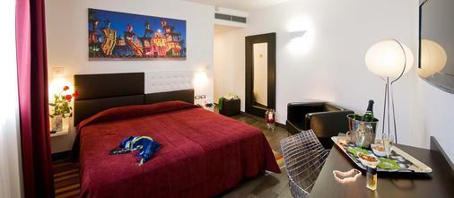 罗马生态酒店 - 罗马 - 睡房