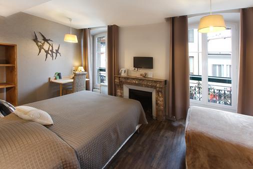 亚历山德拉阿提匹克酒店 - 安纳西 - 睡房