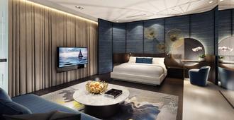 一 15 码头圣淘沙湾新加坡酒店 - 新加坡 - 睡房