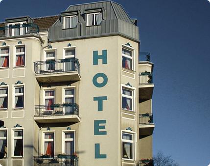 拉哈特酒店 - 柏林 - 建筑