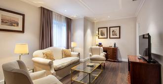 马德里布拉格酒店 - 马德里 - 客厅
