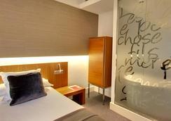 卡尔顿酒店 - 毕尔巴鄂 - 睡房