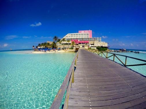 女人岛米娅礁坎昆度假酒店 - 女人岛 - 海滩