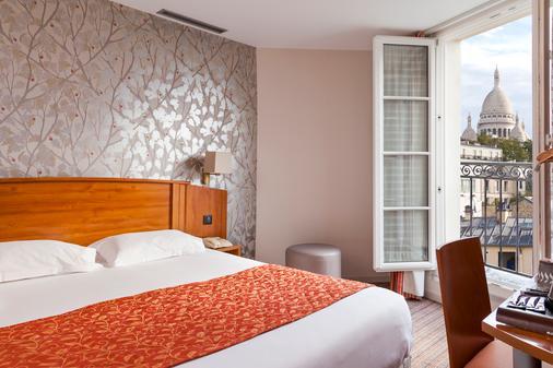 提姆蒙马特尔酒店 - 巴黎 - 睡房