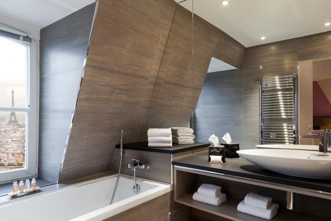 提姆蒙马特尔酒店 - 巴黎 - 浴室
