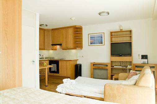 马里波恩服务式总统套房酒店 - 伦敦 - 睡房
