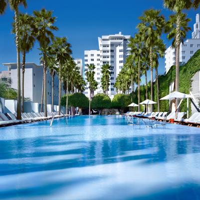 德拉诺摩根独创酒店 - 迈阿密海滩 - 建筑