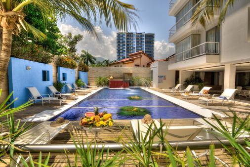 圣托里尼渡假酒店 - 圣玛尔塔 - 游泳池