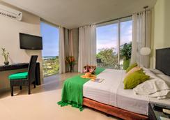 圣托里尼渡假酒店 - 圣玛尔塔 - 睡房