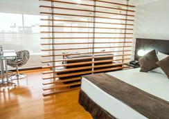 拉菲拉摄政套房酒店 - 波哥大 - 睡房