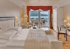 雄伟壮观瑞士大酒店 - 蒙特勒 - 睡房