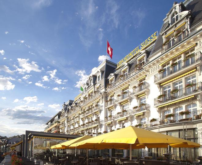 雄伟壮观瑞士大酒店 - 蒙特勒 - 建筑