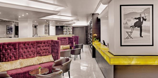 雄伟壮观瑞士大酒店 - 蒙特勒 - 大厅