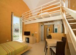 卡罗休闲 5 号 - Palazzo Storico - 加利波利 - 睡房