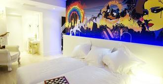 多米西那酒店 - 马德里 - 睡房